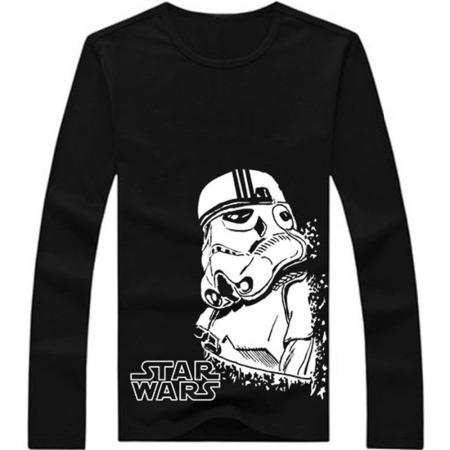 Star-Wars-T-Shirts-Men-Darth-Vader-Mens-ShirtO-Neck-Long-Sleeve-Man-Tees-Casual-Style